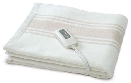 オーガニックコットン電磁波99%カット電気毛布の製品イメージ